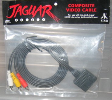 Jaguar Composite Video Cable